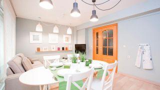 Ideas para decorar cocinas abiertas al salón: Delimitar espacio de manera visual