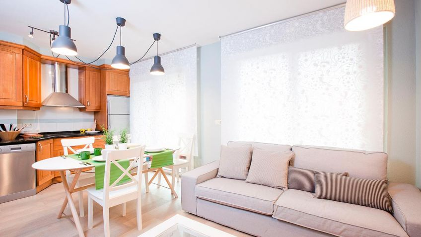 Integrar sala, cocina y comedor en un mismo espacio - Decogarden
