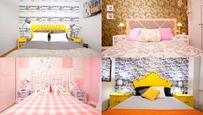 Mariposas para decorar la pared hogarmania - Papel pintado para decorar paredes ...