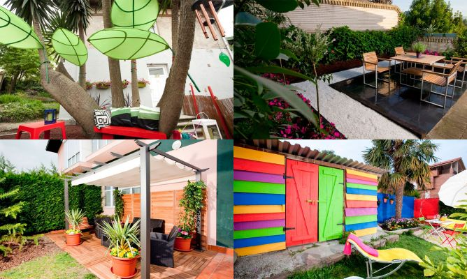 7 ideas para decorar el jard n decogarden - Decoracion jardin exterior ...