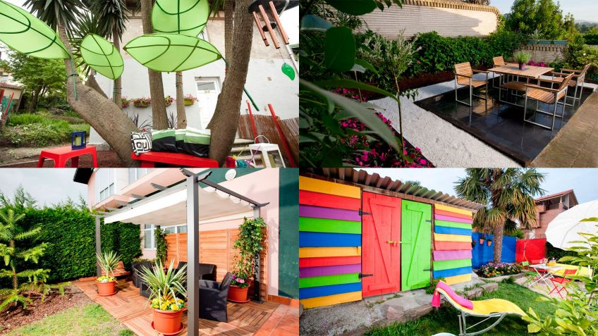 ideas para decorar mi jardin