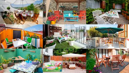 Decorar terraza de estilo chill out decogarden - Decoracion terrazas exteriores ...