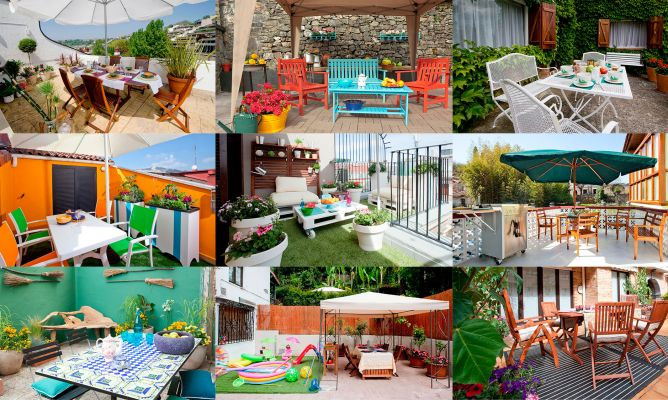 10 ideas para decorar una terraza - Hogarmania