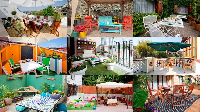10 Ideas Para Decorar Una Terraza Hogarmania