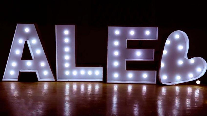 Cómo hacer letras luminosas de cartón - Hogarmania