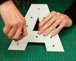 Crear letras luminosas - Paso 3