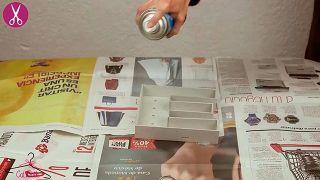 Cómo hacer letras luminosas de cartón - Paso 5