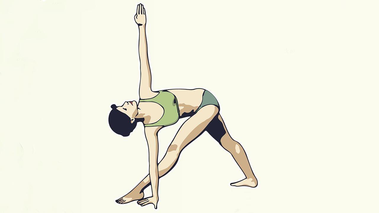6 poses de yoga para aliviar el dolor de espalda - Hogarmania 687ac7d0334a