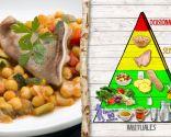 Pisto de garbanzos y oreja, plato nutritivo recomendado para todos