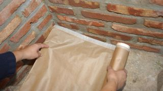 Proteger ladrillos de hongos y moho