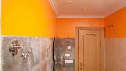 Pintar la pared del baño - Bricomanía