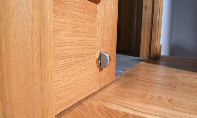 Tope de puerta corredera bricoman a for Puerta corredera de taller