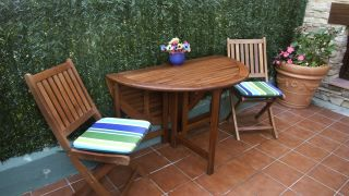 Mantenimiento mesa de jardín