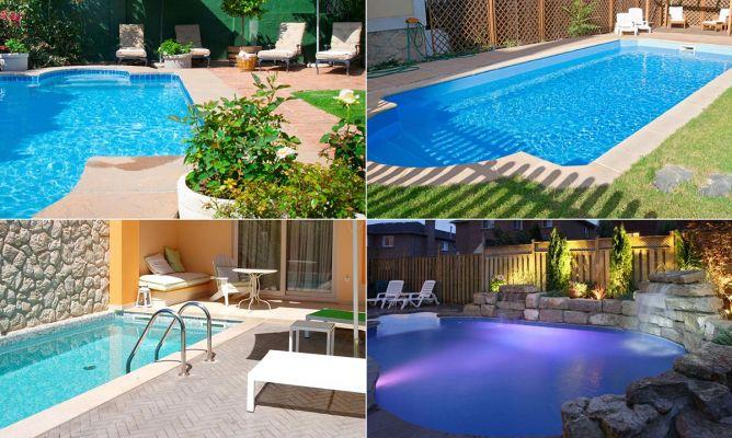 Consejos para decorar jardines con piscina hogarmania for Jardines con piscinas desmontables