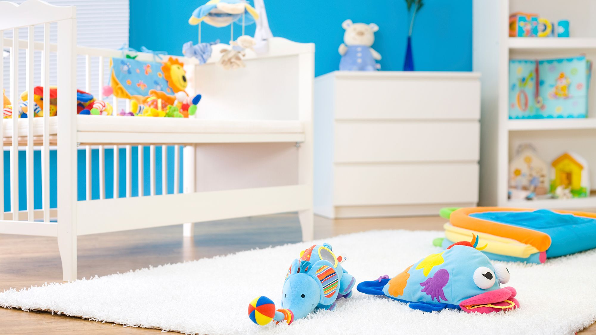 Decoración feng shui para habitación infantil