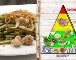 Judías verdes con mollejas, plato para prevenir el estreñimiento