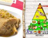 Pierna de cordero a la miel, plato nutritivo rico en proteínas