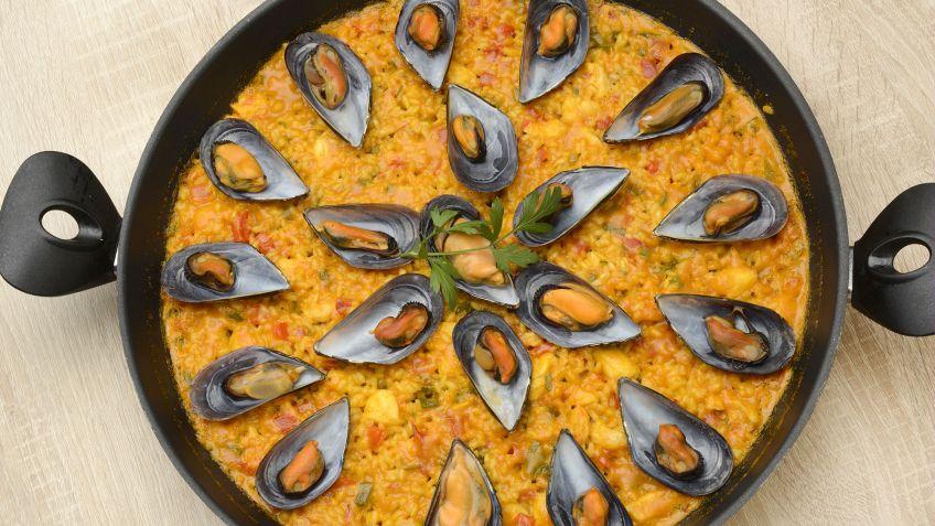 Cocinar Paella | Receta De Paella De Pescado Y Marisco Karlos Arguinano