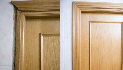 C mo sustituir una puerta por otra m s ancha bricoman a for Bricomania puerta corredera