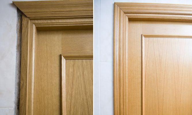 reparar la jamba de puerta bricoman a