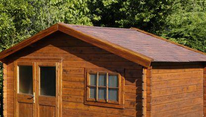 Tejado f cil de instalar bricoman a for Tejados de madera para exterior