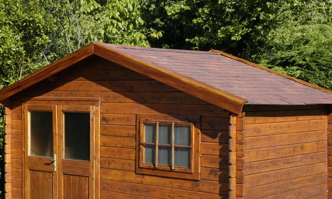 Cubrir tejado con tela asf ltica bricoman a for Tejados de madera prefabricados
