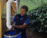 Canalón para aprovechar aguas pluviales