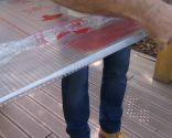 Instalar una cubierta de policarbonato celular