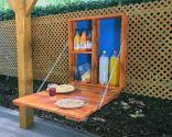 Mueble bar con palet