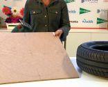 crear puff de neumático y cuerda - paso 1