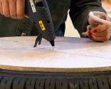 crear puff con neumático y cuerda - paso 7