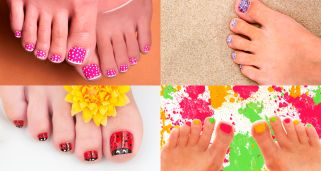 7 ideas de pedicuras originales para tus pies