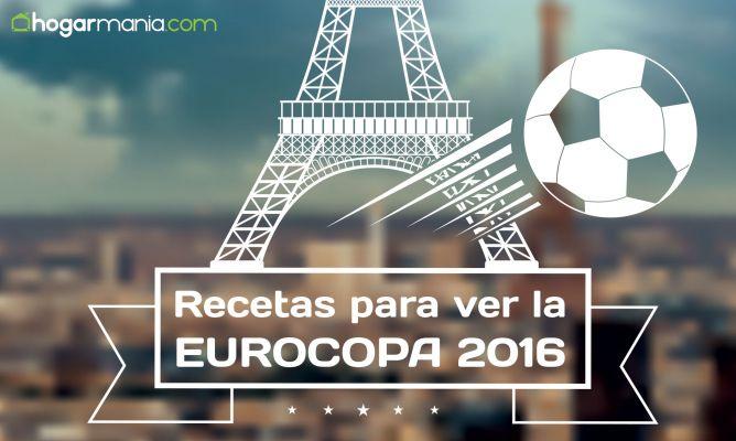 20 recetas para disfrutar de la Eurocopa 2016 - Hogarmania