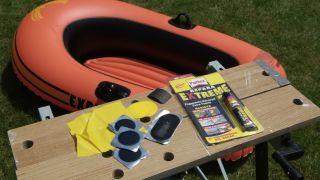 Reparación de embarcación de plástico