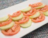 Ensalada de tomate pera y pepino