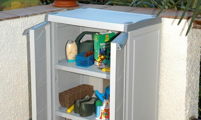 Montar un armario exterior bricoman a - Armarios plastico exterior ...