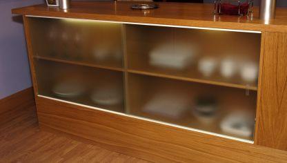puertas correderas en mostrador