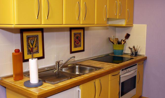 Encimera de cocina alicatada bricoman a - Losas de cocina ...