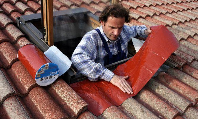 Impermeabilizaci n de ventana de tejado bricoman a - Impermeabilizacion de tejados ...
