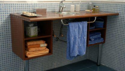 C mo construir un mueble para el lavabo decogarden - Como hacer mueble para bano ...