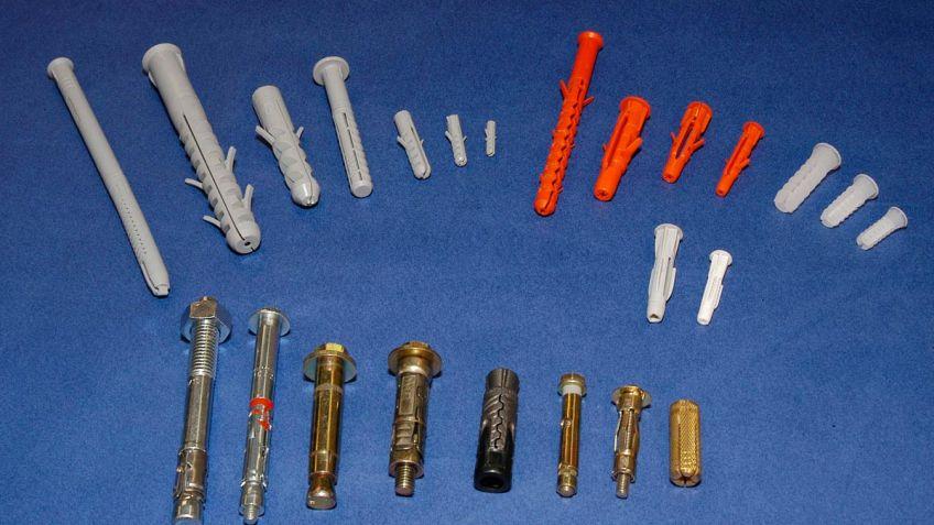 Tipos de tacos de fijación - Bricomanía bb39efc3a434e