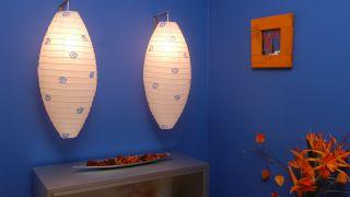 Personalizar lámparas de papel decorativas