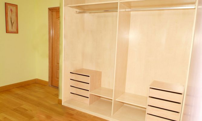 Interior de armario empotrado bricoman a - Cajonera para armario empotrado ...