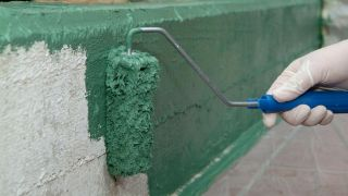 Pintar murete de exterior