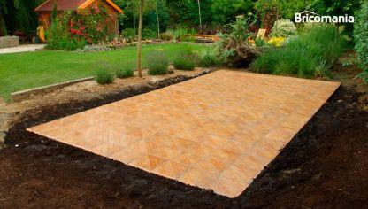 Revestir suelo de terraza bricoman a - Como instalar suelo vinilico ...