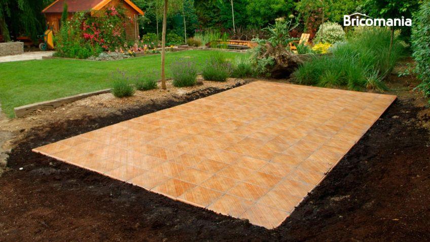 Pintar suelo gres azulejos para bao bricorcomo blanquear las juntas de los azulejos o suelo - Soleria imitacion madera ...