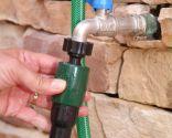 Colocación de enrolla manguera automático