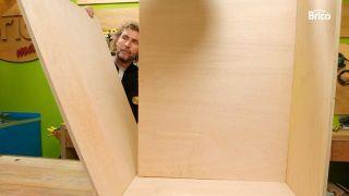 Cómo hacer armarios móviles abuhardillados