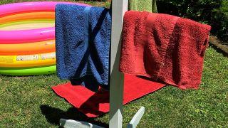 Hacer un toallero de exterior