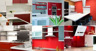 Decoraci�n de cocinas en color rojo